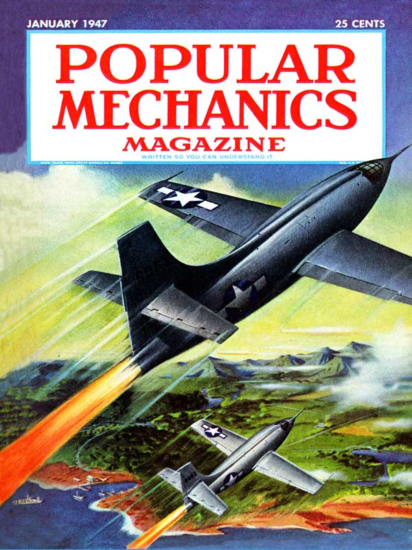 Popular Mechanics - Fire from the Sky Magazines and Newspapers Jigsaw Puzzle