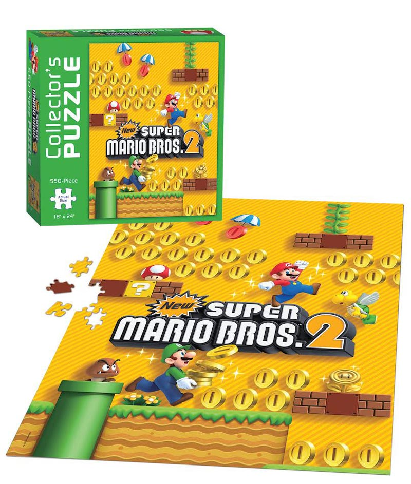 Super Mario Bros 2 Collectors Puzzle Movies Books TV Jigsaw