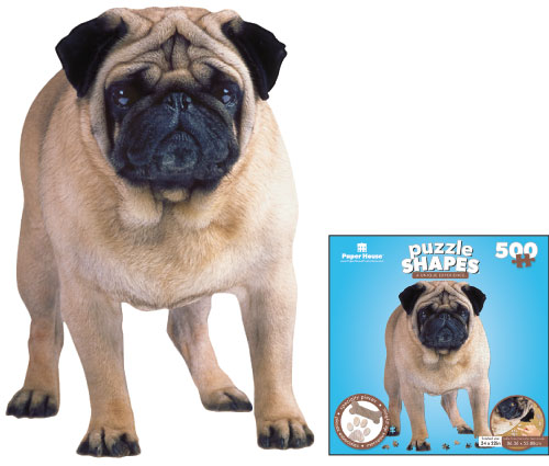 Pug Dogs Jigsaw Puzzle