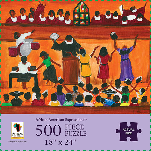 Church African American Jigsaw Puzzle