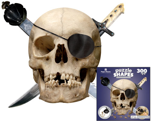 Pirate's Skull Fantasy Jigsaw Puzzle