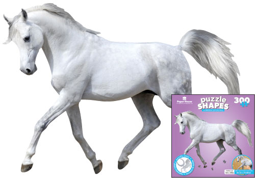 White Horse Unicorns Jigsaw Puzzle