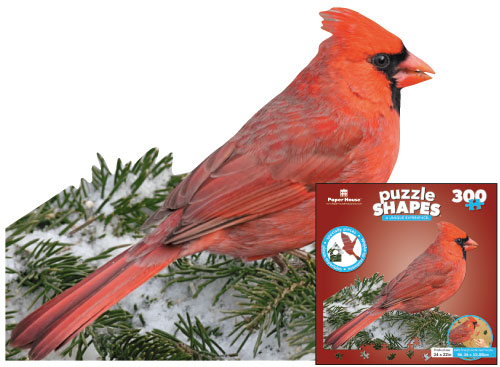 Red Cardinal Birds Jigsaw Puzzle