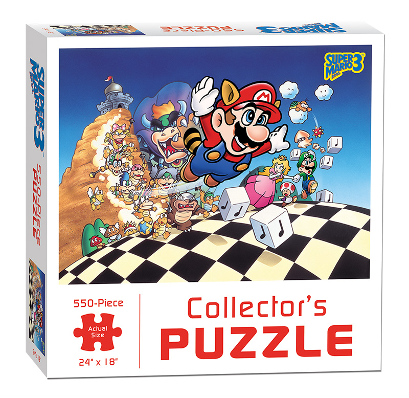 Super Mario Action- & Spielfiguren Mario and Friends 500 Piece Puzzle