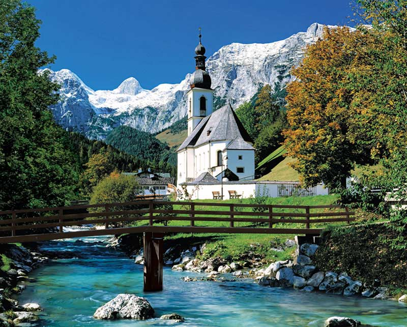 Peaceful Passage Germany Jigsaw Puzzle