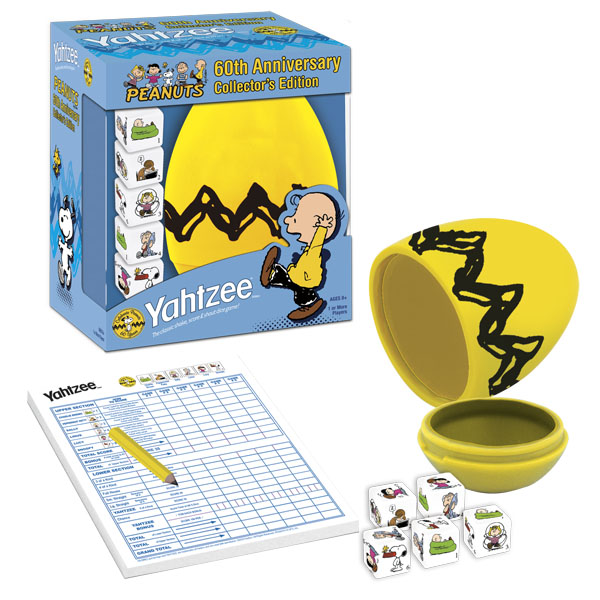 Yahtzee - Peanuts 60th Anniversary Edition Cartoons Game