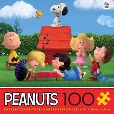 Snoopy and Friends (The Peanuts Movie) Cartoons Jigsaw Puzzle