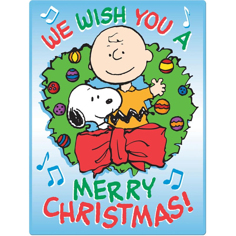 peanuts we wish you a merry christmas collectors puzzle tin - Peanuts Christmas