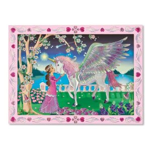 Peel and Press - Mystical Unicorn Princess Activity Books and Stickers