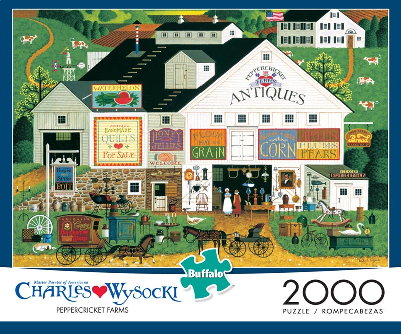 Peppercricket Farms (2000pc) Americana Jigsaw Puzzle