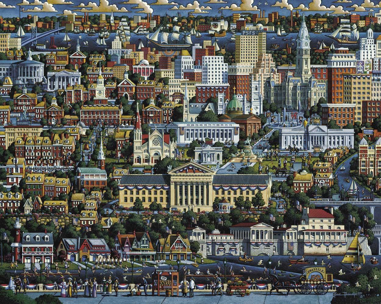 Philadelphia United States Jigsaw Puzzle