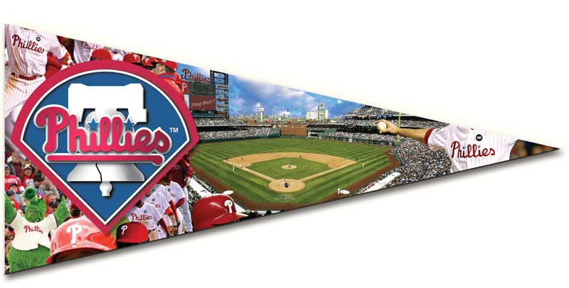 Pennant - Phillies Sports Jigsaw Puzzle
