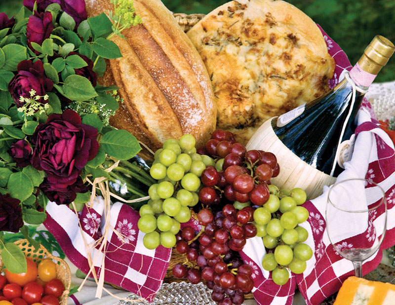 Picnic Perfect Food and Drink Jigsaw Puzzle