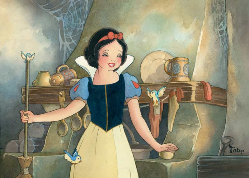Disney Artist Series - Portrait of Innocence Disney Jigsaw Puzzle