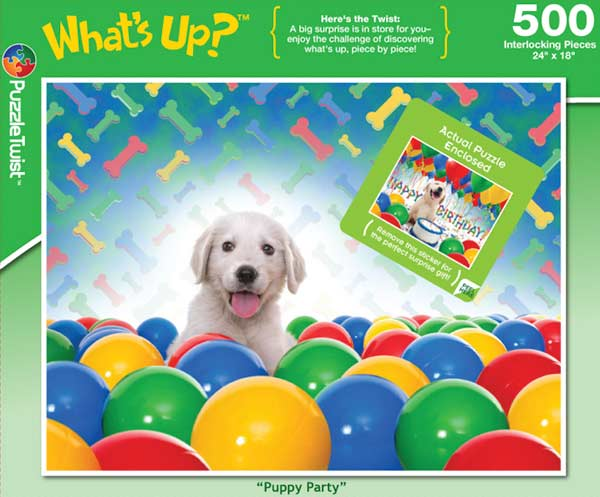 Puppy Party Dogs Hidden Images