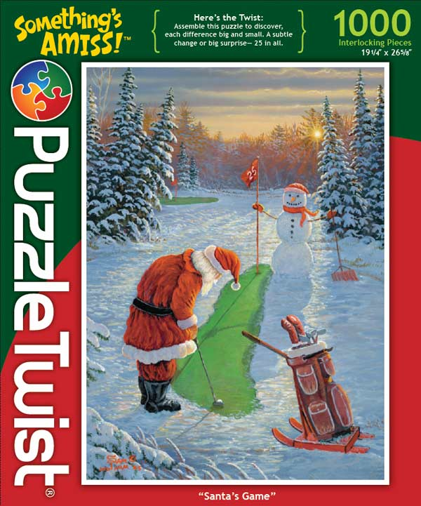 Santa's Game Christmas Hidden Images