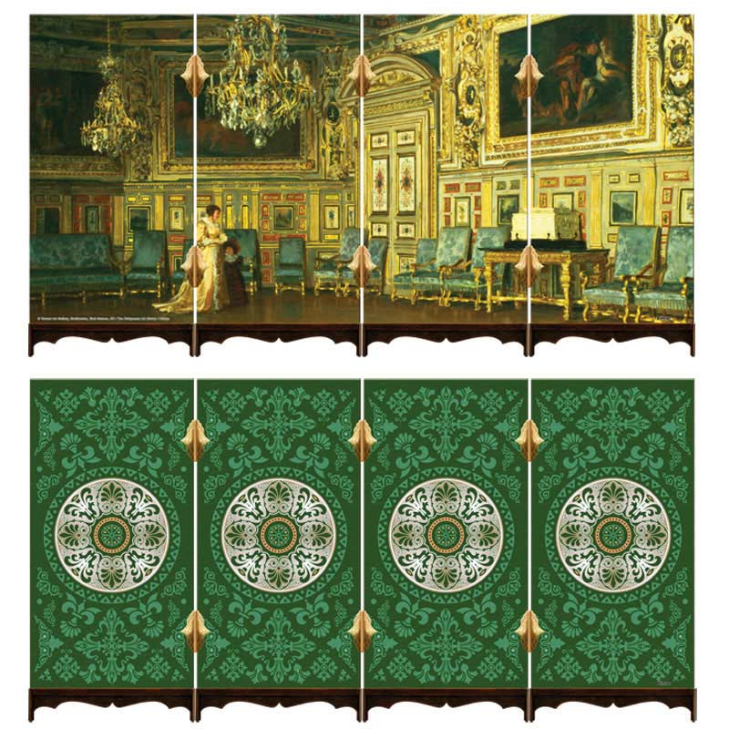 Screen Treasured Arts - The Oval Salon at Versailles Renaissance Jigsaw Puzzle