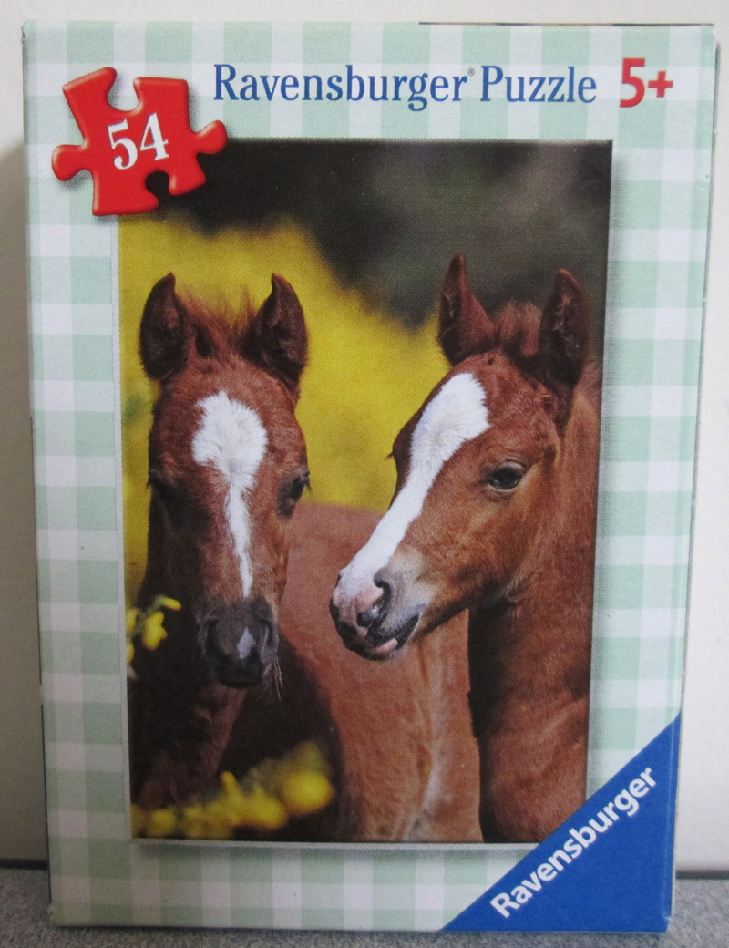 Horses 3 (Mini) Horses Children's Puzzles