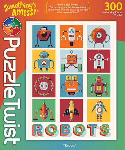 Robots Sci-fi Hidden Images