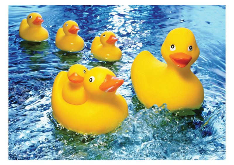 Rubber Duckies Jigsaw Puzzle