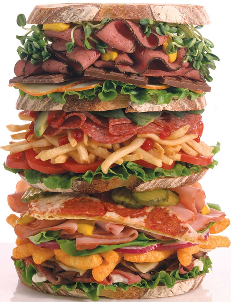 Snack Stack Food and Drink Jigsaw Puzzle