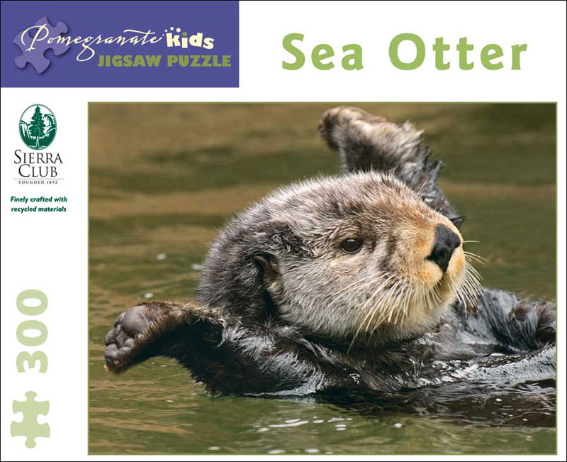 Sea Otter Marine Life Children's Puzzles