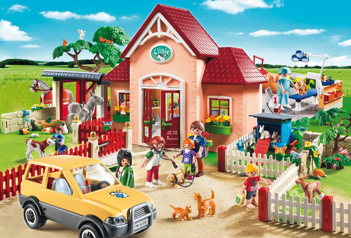 At the Vet (Playmobil) Bunnies Jigsaw Puzzle
