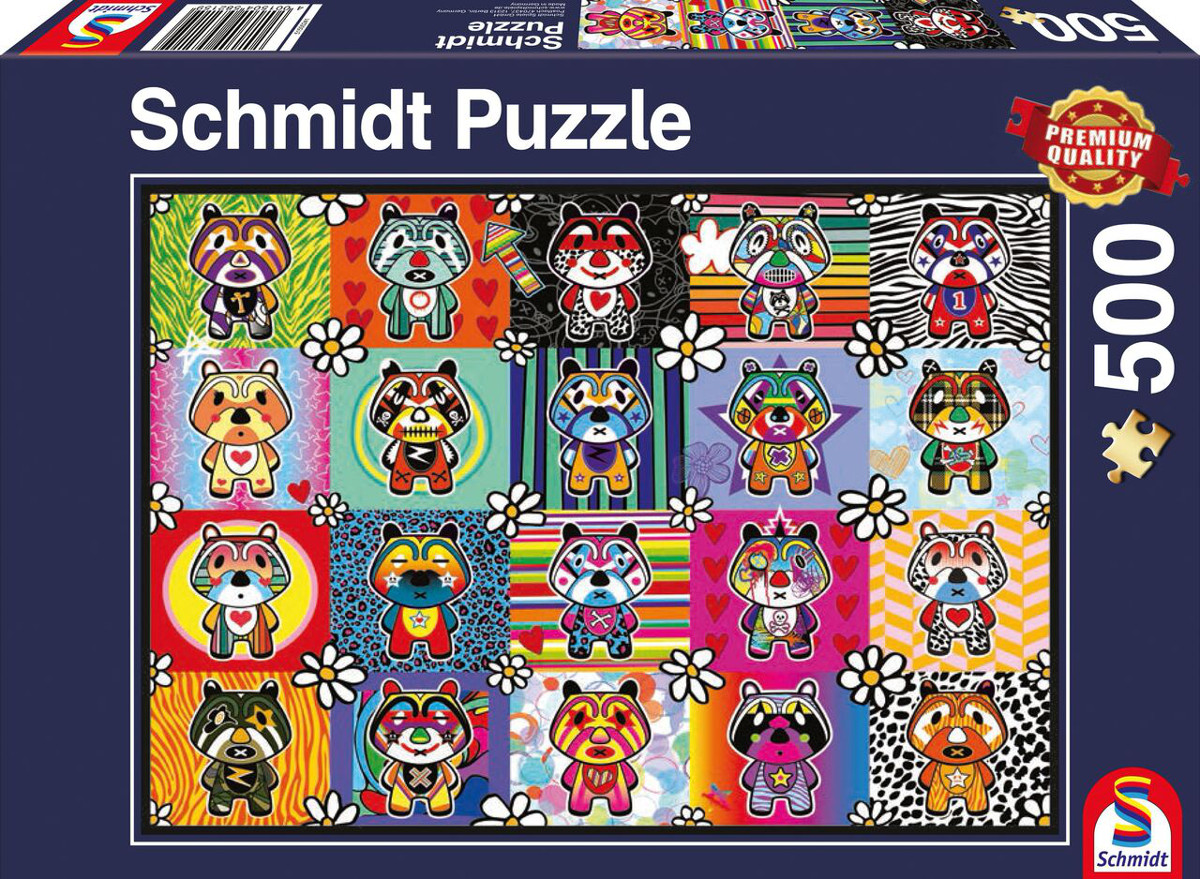 Tantan & Momo Graphics / Illustration Jigsaw Puzzle