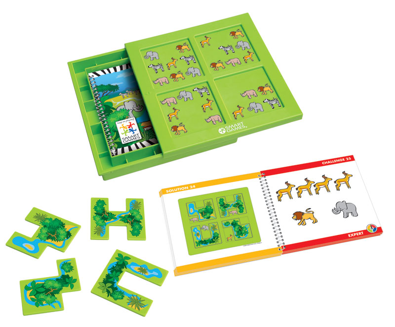 Hide & Seek Safari Strategy/Logic Games