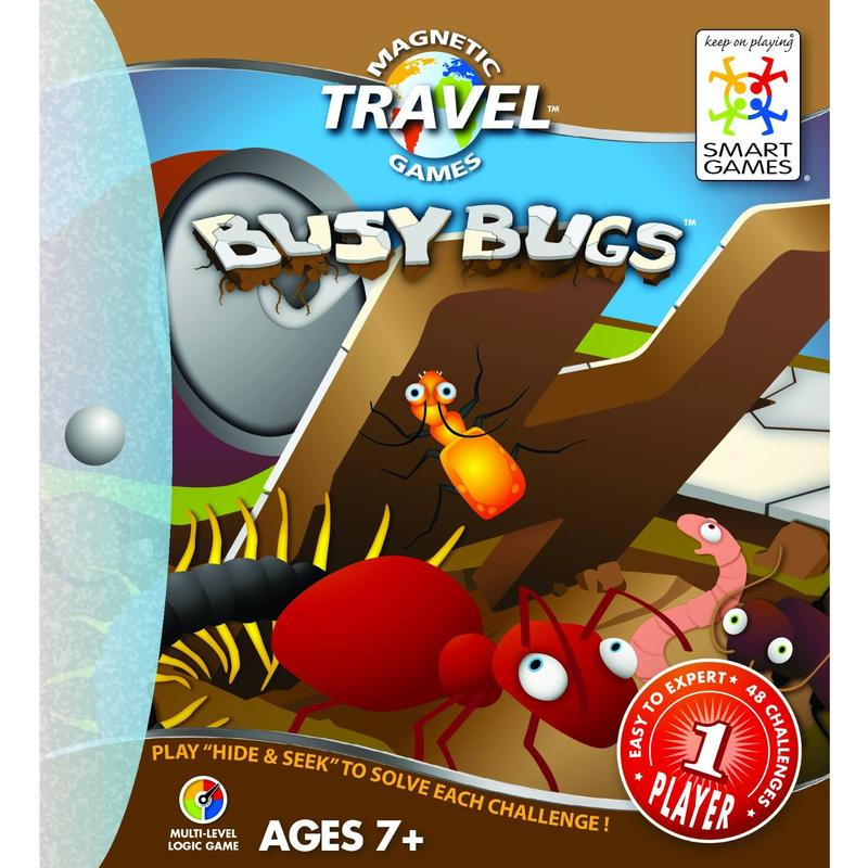 Travel Busy Bugs Game