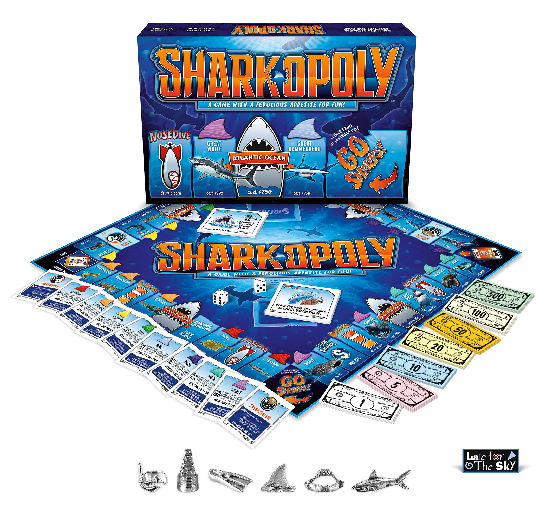 Shark-Opoly Under The Sea