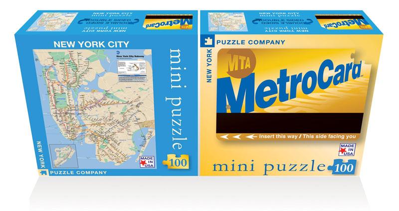 NY Subway (Mini) Maps / Geography Jigsaw Puzzle