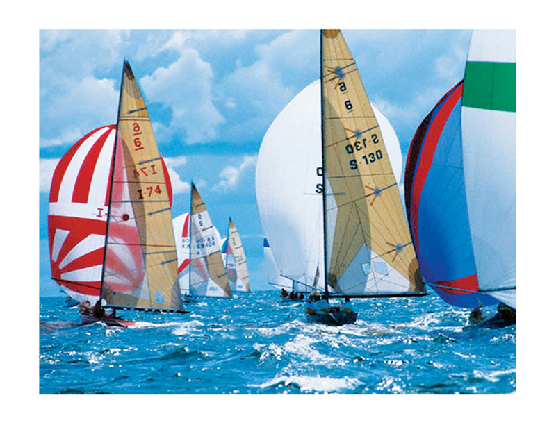 Sailboats Boats Jigsaw Puzzle