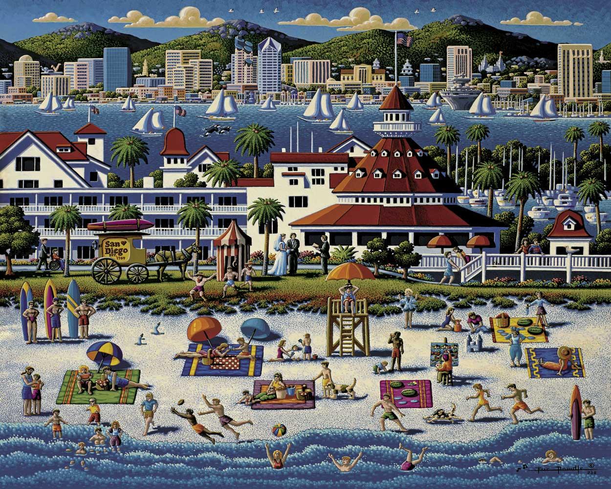 San Diego United States Jigsaw Puzzle
