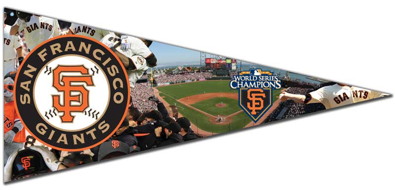 Pennant - S. F. Giants Sports Jigsaw Puzzle