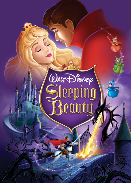 Poster Puzzle Sleeping Beauty Jigsaw Puzzle