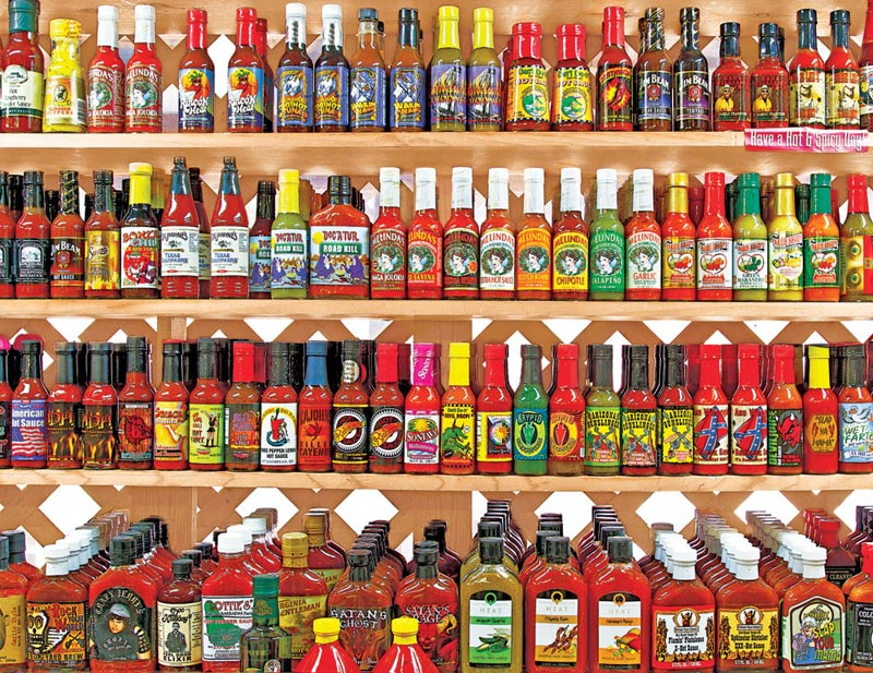 Spicy, Hot! Food and Drink Jigsaw Puzzle