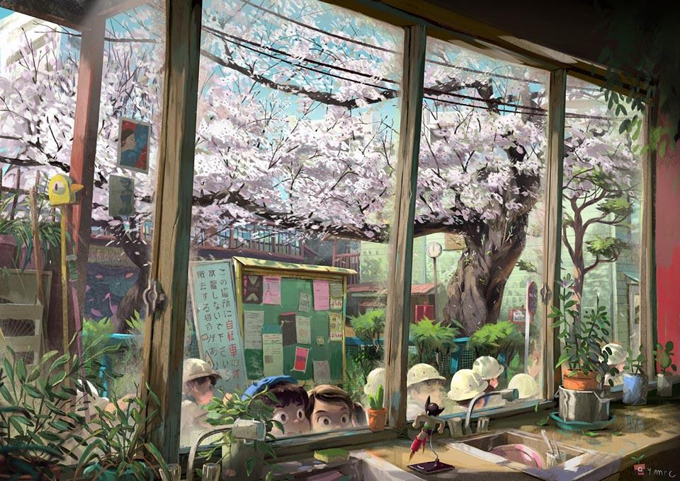 Spring in Sakuragaoka Fantasy
