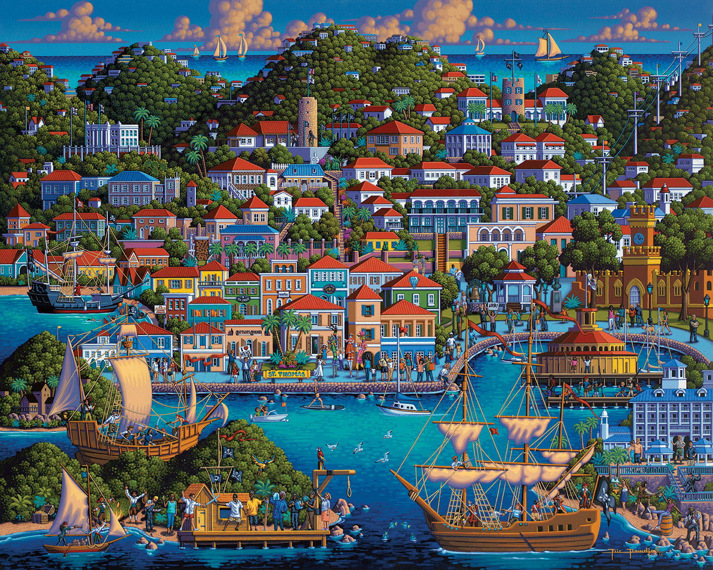 St. Thomas Travel Jigsaw Puzzle