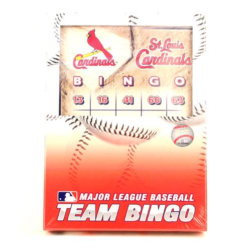 St. Louis Cardinals Bingo St. Louis