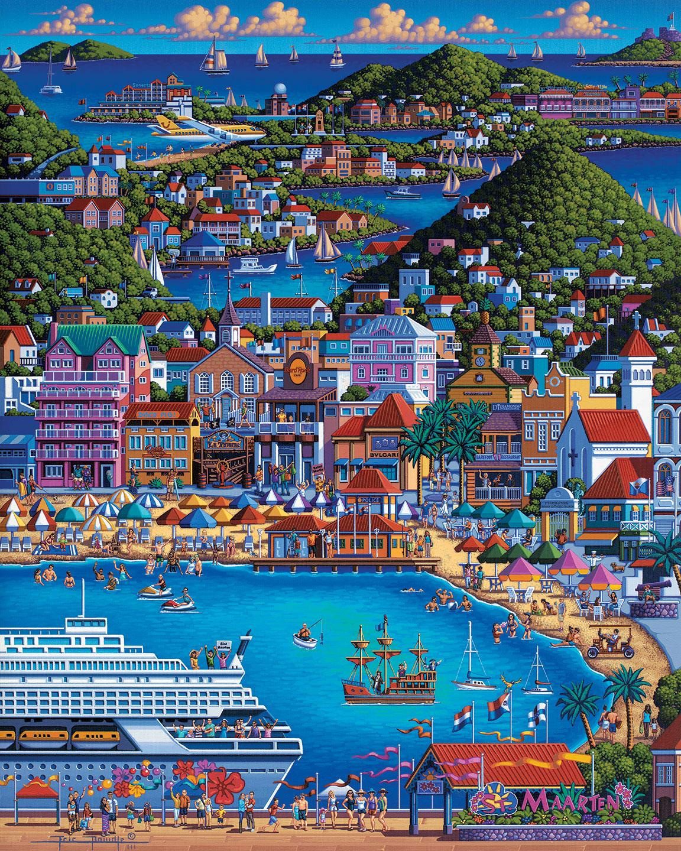 St. Maarten Travel Jigsaw Puzzle