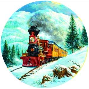 Steam in the High Sierras Trains Jigsaw Puzzle