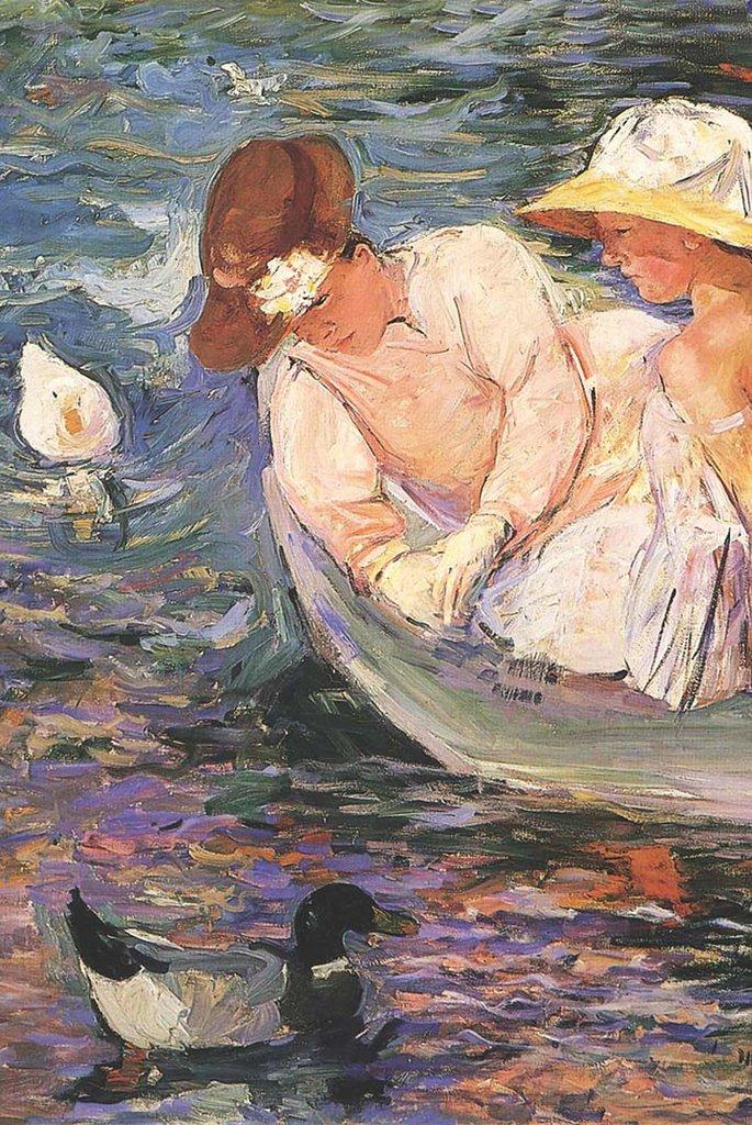 Summertime by Mary Cassatt Fine Art