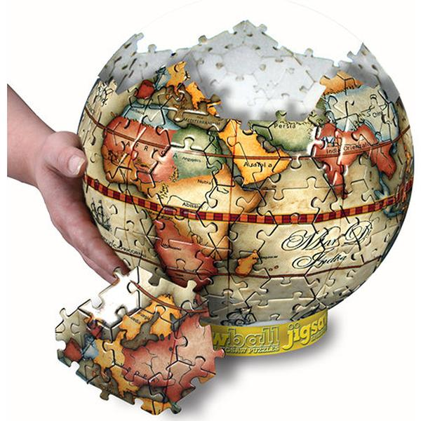 Antique globe puzzle jigsaw puzzle puzzlewarehouse antique globe puzzle maps geography jigsaw puzzle gumiabroncs Images