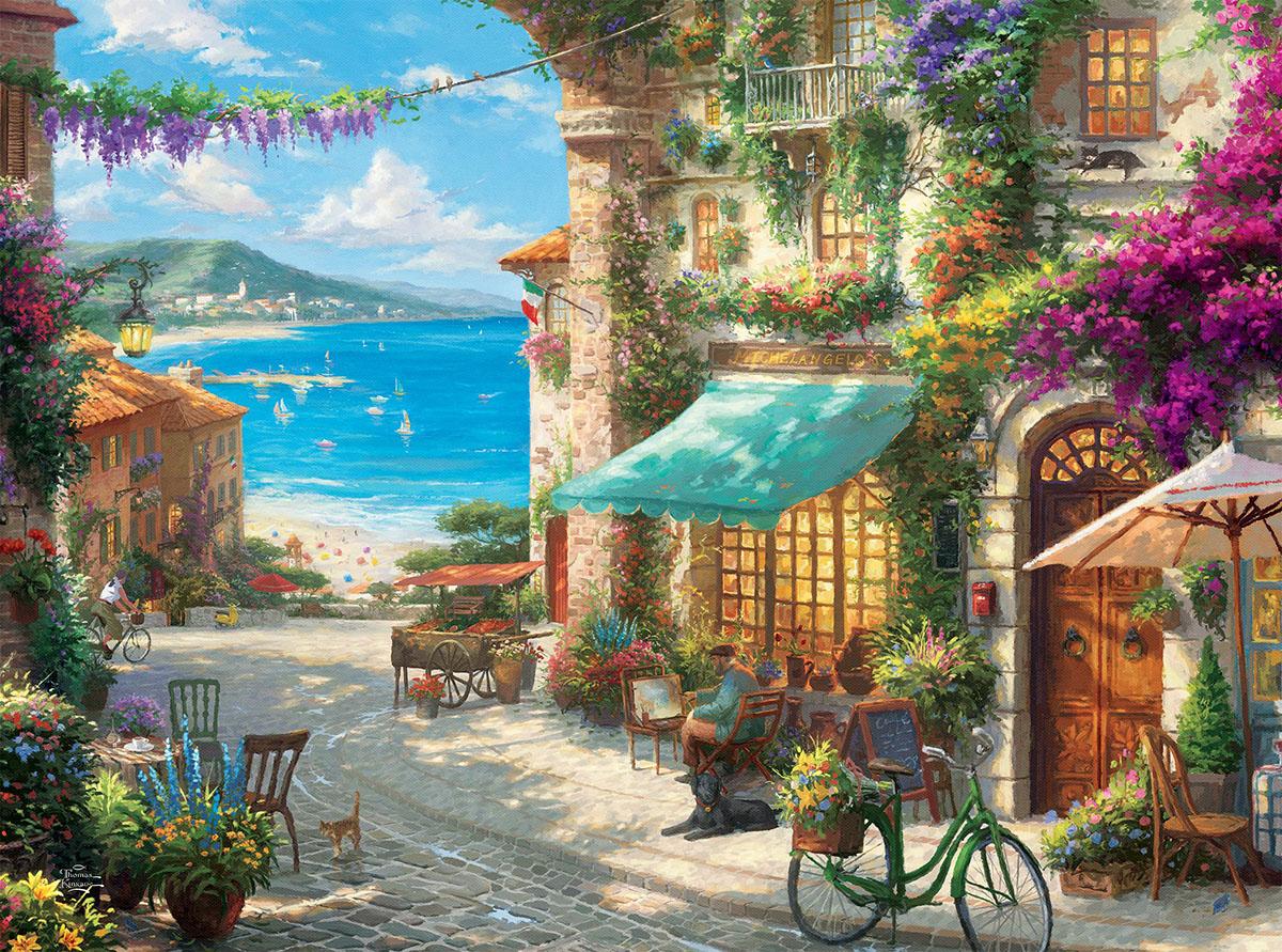 italian cafe jigsaw puzzle puzzlewarehousecom
