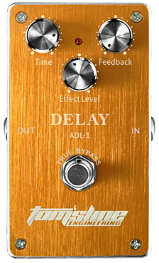 Tomsline Delay True Bypass Guitar Effect Pedal