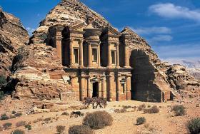 Petra, Jordan Travel Jigsaw Puzzle