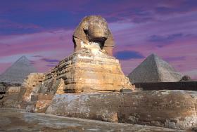 Pyramids Of Giza, Egypt Landmarks / Monuments Jigsaw Puzzle
