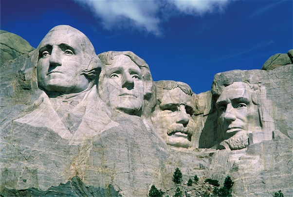 Mount Rushmore Monument Mountains Jigsaw Puzzle