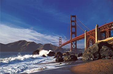 Golden Gate Bridge, San Francisco San Francisco Jigsaw Puzzle